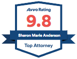 Avvo Rating 9.8 - Sharon Anderson - Top Attorney