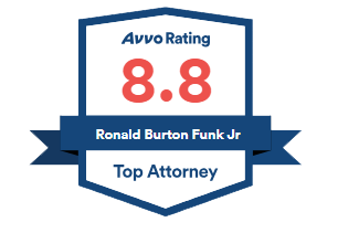 Avvo Rating 8.8 - Ron Funk - Top Attorney