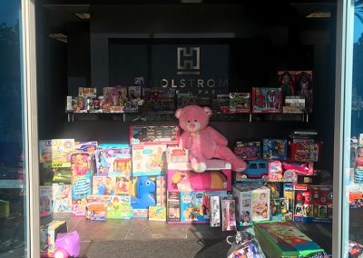 Toy Drive at Holstrom, Block & Parke, APLC
