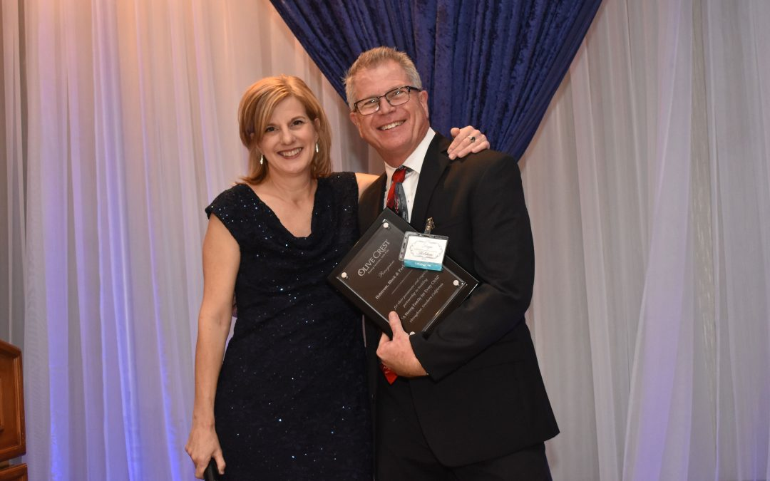 Dayn Holstrom Honored at IE Holiday Gala for Charitable Contributions